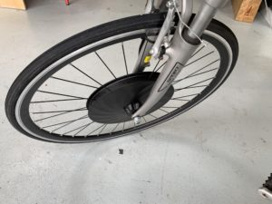Front Hub Motor Electric Bike