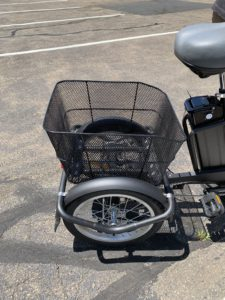 Electric Tricycle Basket for Cargo