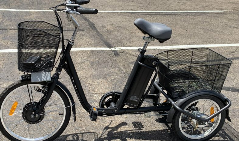 Electric Trike and Cargo